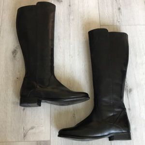 Frye Carly Leather Tall Boot